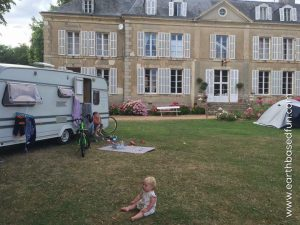 Caravanning with children