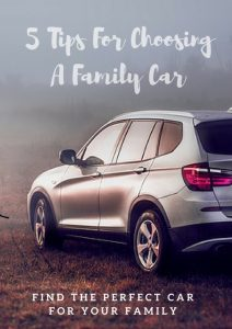 Five tips for choosing a perfect family car