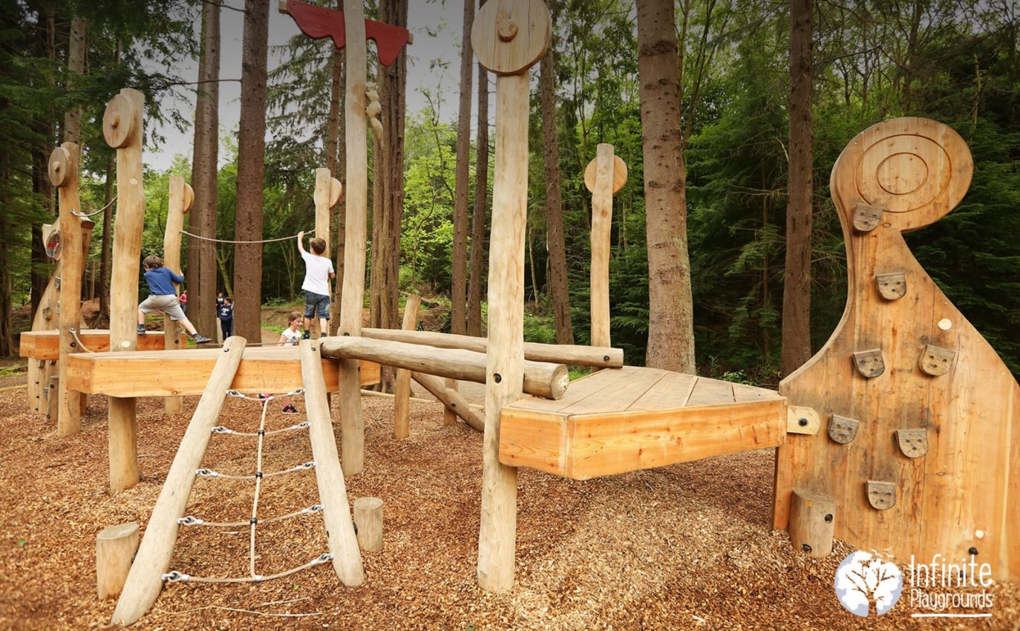 10 ways natural playgrounds help benefit children's development
