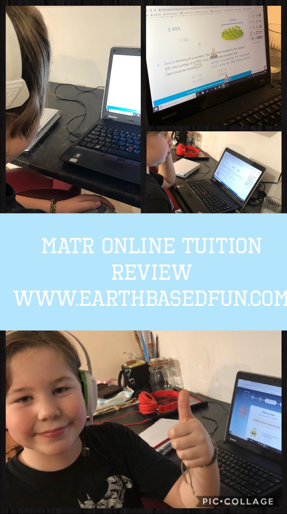 Review of a online one-to-one maths tuition program for children- MATR